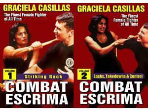 2 DVD Set Combat Escrima Women Filipino Martial Arts DVD Graciela Casillas