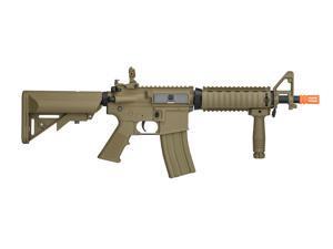 Airsoft Tan CQB Spec Ops M4 AEG Assault Rifle Gun Set + Battery & Charger