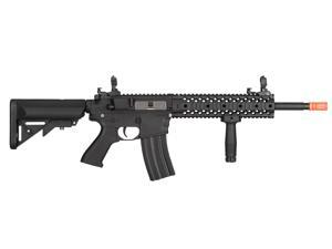 Airsoft Black M4 RIS CQB AEG Assault Rifle Gun Set + Battery & Charger