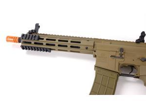 "Airsoft Tippmann Recon AEG Carbine 9.5"" Compact Rifle M-LOK Earth Tone Tan"