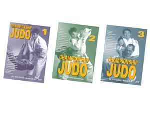 3 DVD SET Championship Judo grappling chokes armbars counters Hayward Nishioka