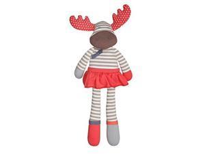 Organic Farm Buddies Plush Toy - Margeaux Moose, 14 inches