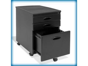 "Studio Designs Locking File Cabinet (Black) (23""H x 15.75""W x 22""D) 51100"