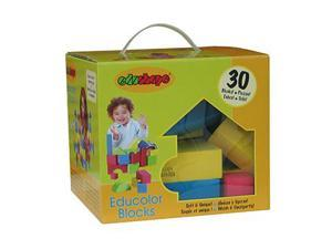 Edushape Educolor Blocks 30 Pcs 716575