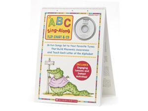 Scholastic Abc Sing Along Flip Chart & Cd 0439784395