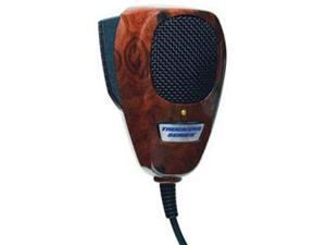 ROADPRO R TM-2007WG 4-PIN NOISE CANCELING CB MICROPHONE  WOOD GRAIN