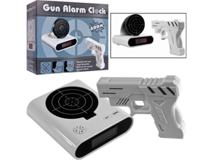Trademark 72-CB340 Gun & Target Recordable Alarm Clock By Tg