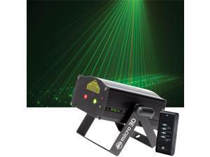 American DJ Micro 3D Red Green Laser 3D Imaging - New