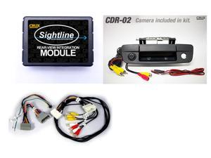Crux Dodge Ram Rear-View Camera Integration Kit (RVCCH-75R) Add a Rear-View Camera to a Factory Radio in select 2009-2012 Dodge Ram Vehicles w/ MYGIG Systems