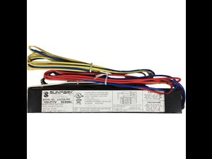 Sunpark U-4/32IS HPF UNV 4 Lamp, Instant Start, High Power Factor, 120-277V, Ballast