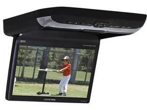 "Alpine PKG-RSE3DVD 10.2"" LCD overhead fold down DVD Video Monitor w/ Wireless Headphones"