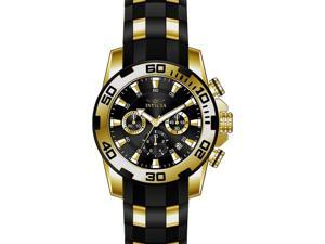 Invicta  Pro Diver 22312  Silicone, Stainless Steel Chronograph  Watch