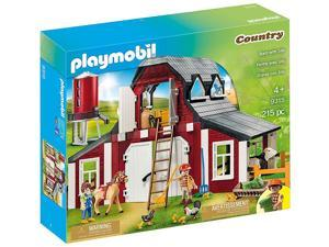 Playmobil Country Barn with Silo 9315 (for Kids 4 & up)
