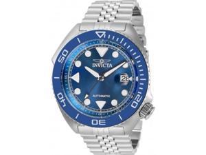Invicta Men's 30411 Pro Diver Automatic 3 Hand Blue Dial Watch