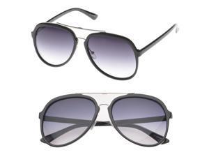 307380c422e MLC Eyewear  Pico  Double Bridge Aviator Fashion Sunglasses in Purple black