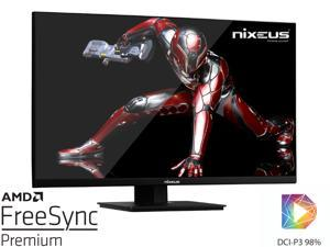 "Nixeus EDG 27"" Fast IPS KSF LED 2560 x 1440 AMD FreeSync Premium Certified 165Hz Gaming Monitor (NX-EDG27X)"