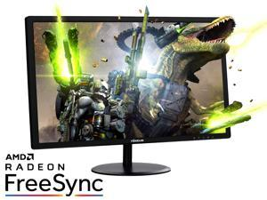 "Dell SE2417HG Black 23 6"" Gaming LCD Monitor, 2ms Fast Response Time, Dual  HDMI ports for switching between PC and gaming console - Newegg com"