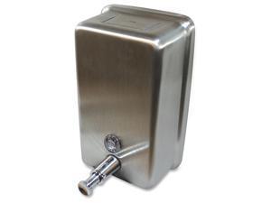 Genuine Joe Liquid Soap Dispenser Vertical 40oz Cap STST 85134