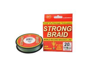 Ardent SG65G-300 Strong Braided 65lb Green 300 Yards Fishing Line