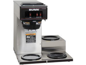 BUNN 133000003 Stainless steel 12-Cup Pourover Coffee Brewer