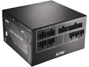 XPG CORE Reactor 750Watt 80 Plus Gold Certified Fully Modular Power Supply (COREREACTOR750G-BKCUS)