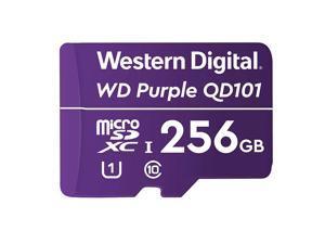 WD Purple WDD256G1P0C 256 GB Class 10/UHS-I U1 microSDXC