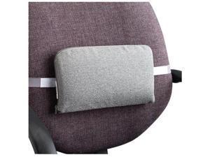 "Master Caster Lumbar Support Cushion 12-1/2""x2-1/2""x7-1/2"" Neutral Gray 92041"