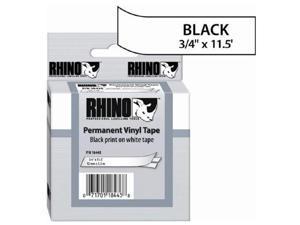 Sanford 18445 Black on White Label Printer Tape, 19mm Width, 5.5m Length