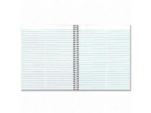 National 3 Subject Wirebound Notebook College Rule 6 x 9 1/2 White 150 Sheets