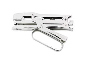 Ace Clipper Stapler Lightweight 210 Staple Capacity Chrome 07020