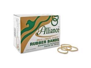 Alliance Rubber Pale Crepe Gold Rubber Band 320 EA/BX