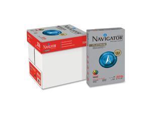 Navigator NPL1420 Platinum Paper, 99 Brightness, 20lb, 8-1/2 x 14, White, 5000/Carton