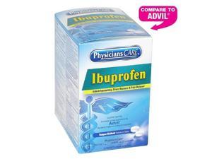 Physicianscare Ibuprofen Medication Two-Pack 200mg 50 Packs/Box 90015