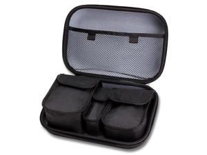 USA Gear Carrying Case for Nintendo SNES Classic Edition - Mini Super Nintendo Console Travel Bag with Customizable Interior - Fits SNES , Controllers , Cables / Extensions & More Accessories