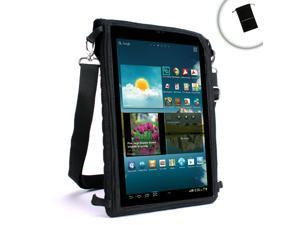 USA Gear FlexARMOR X Tablet Carrying Case with Touch Capacitive Screen Protector and Adjustable Shoulder Strap for iView, Aluratek, Kocaso, Mach Speed, Ematic, HipStreet, Nextbook, Supersonic & More!