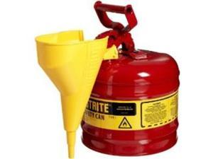Justrite 7120110 Type I Galvanized Steel Safety Can