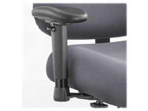 Safco Height/Width-Adjustable T-Pad Arms for Optimus Big & Tall Chairs Black 1