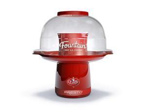 PRESTO 04868 Orville Redenbacher's Fountain Hot Air Popper, Red