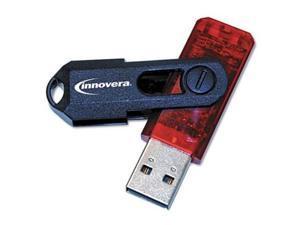 Innovera Portable USB 2.0 Flash Drive, 16GB IVR37616