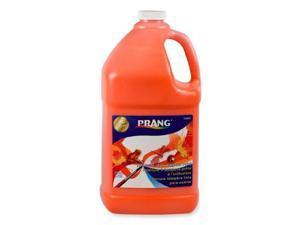 Prang Liquid Tempera Paint - 1 gal - 1 Each - Orange
