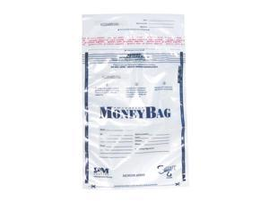 PM Company 58002 Pm Securit Plastic Disposable Deposit Money Bag