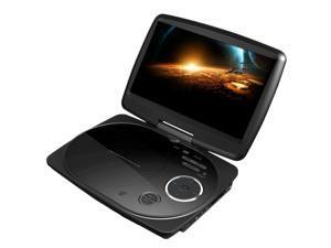 """Impecca - Impecca 9"""" Portable Swivel Dvd Player/Usb (Black)"""