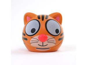 Impecca Zoo-Tunes Portable Mini Character Speakers for MP3 Players (Tiger) - MCS05