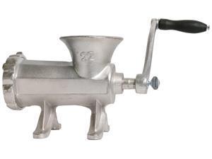 Chard HG-22 #22 Meat Hand Grinder, Silver