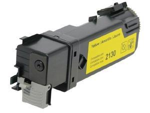 Westpoint Compatible 2130cn 2135cn High Yield Yellow Toner (OEM# 330-1391 330-1438 FM066) (2500 Yield)