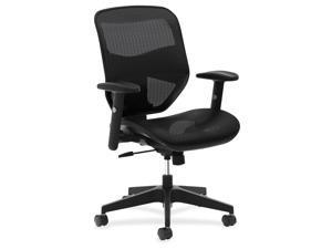 HON Company VL534 Mesh High-Back Task Chair 250lbs Cap. Black HVL534MST3