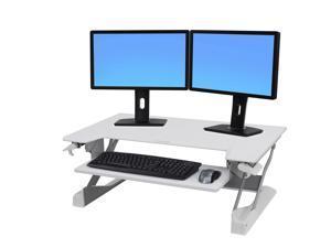 Ergotron WorkFit-TL Desktop Sit-Stand Workstation 37 1/2 x 25 x 20 White