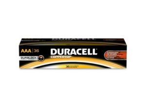 DURACELL CopperTop MN2400 1.6V AAA Alkaline Battery, 36-pack