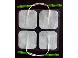 PR009-P Prospera  electronic pulse massager  Refill Pads 4 with color box,  FDA approved formula. Proprietary technology. Electric pulses evenly distributed.  Pain relief. Soothing effect.