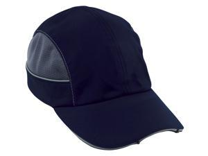 8960  Navy-Long Brim LED Bump Cap